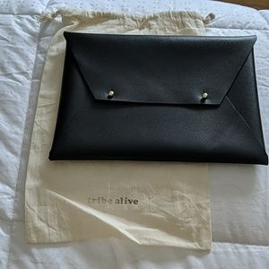 New! Tribe Alive leather clutch